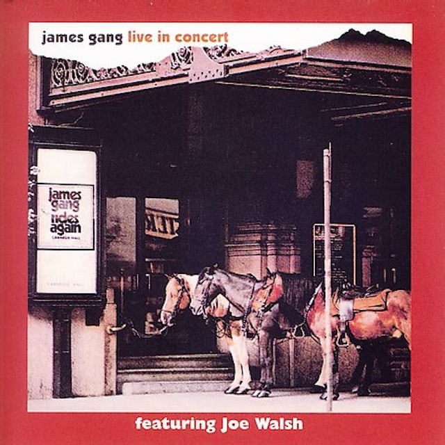 James Gang LIVE IN CONCERT CD