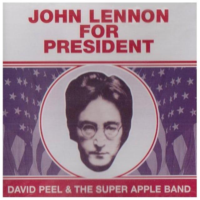 David Peel JOHN LENNON FOR PRESIDENT CD