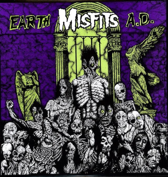 The Misfits EARTH A.D. Vinyl Record