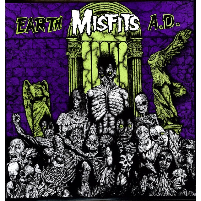The Misfits EARTH A.D. Vinyl Record