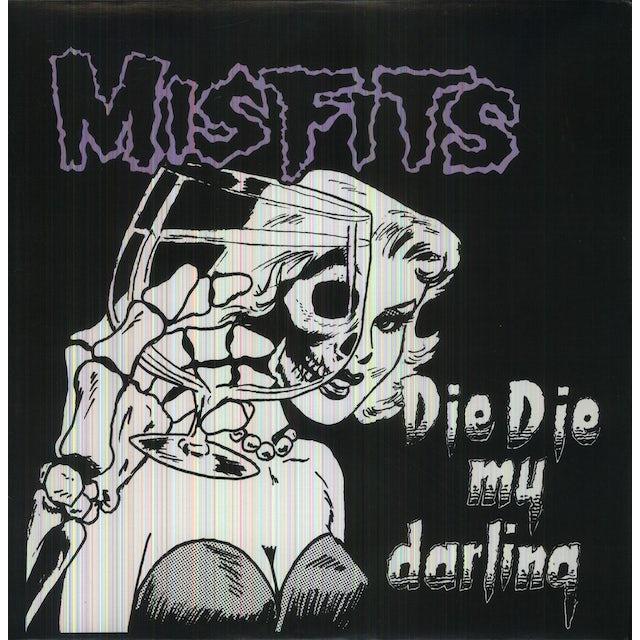 The Misfits DIE DIE MY Vinyl Record