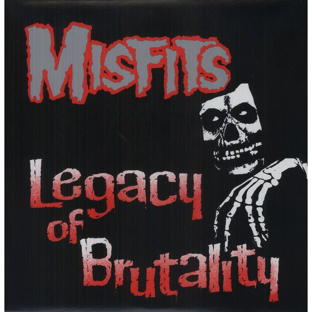 The Misfits LEGACY OF BRUTALITY Vinyl Record