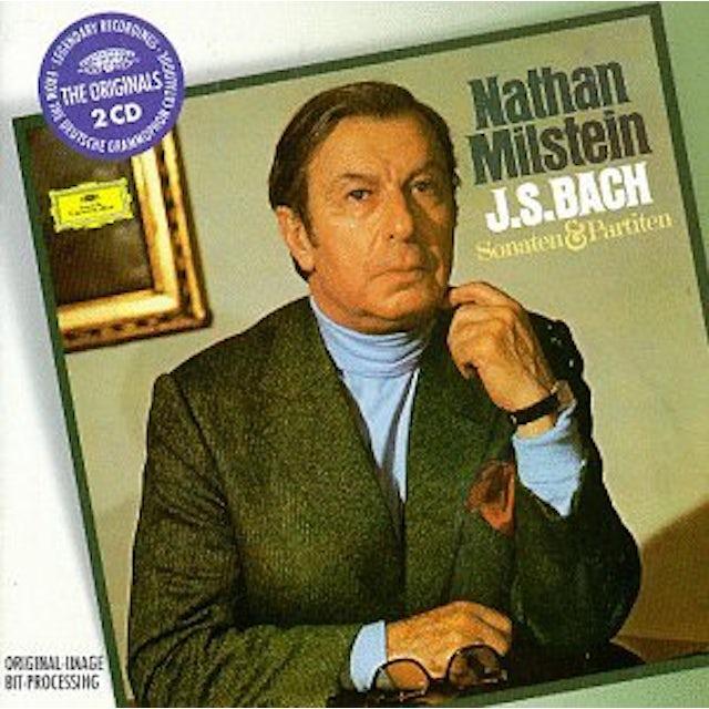 J.S. Bach / Milstein SONATAS & PARTITAS FOR SOLO VIOLIN CD