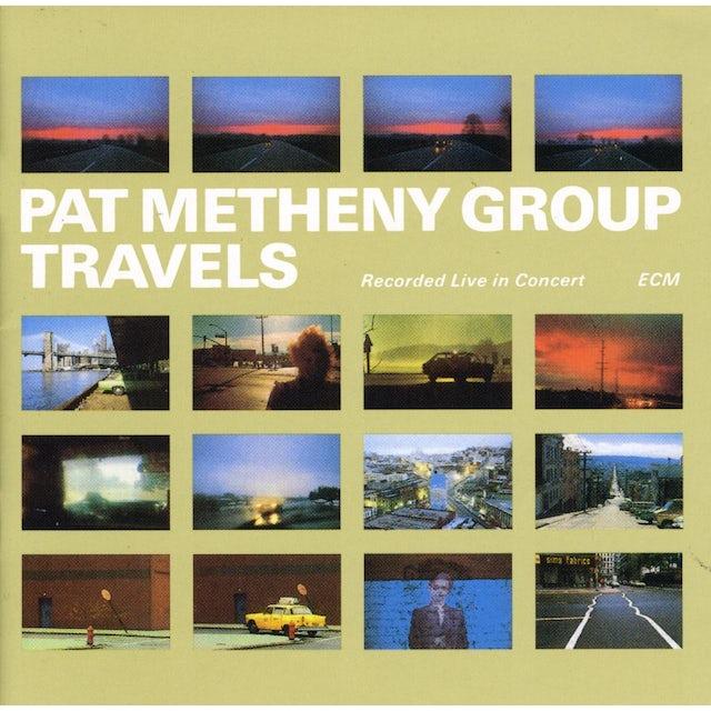 Pat Metheny Group TRAVELS CD