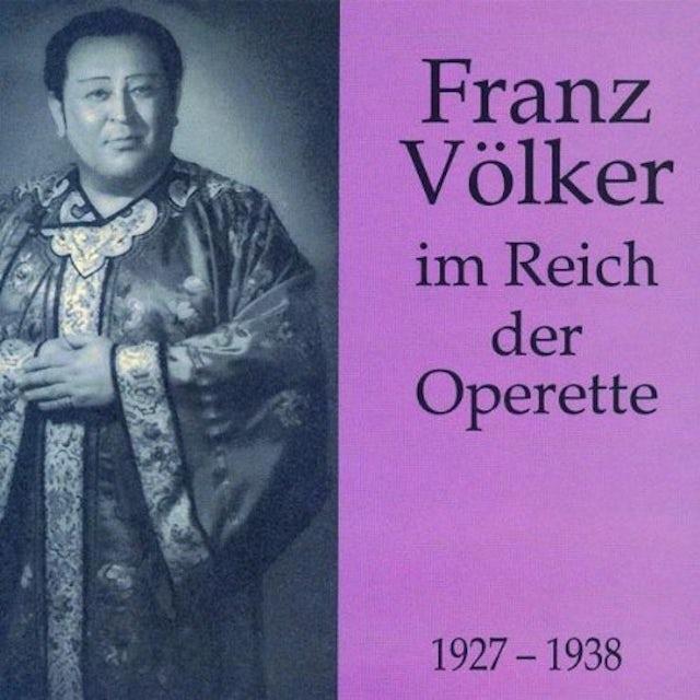 Volker IN THE KINGDOM OF OPERETTAS CD