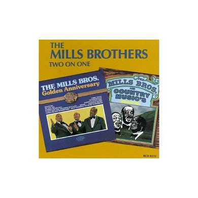 Mills Brothers 2-ON-1 CD