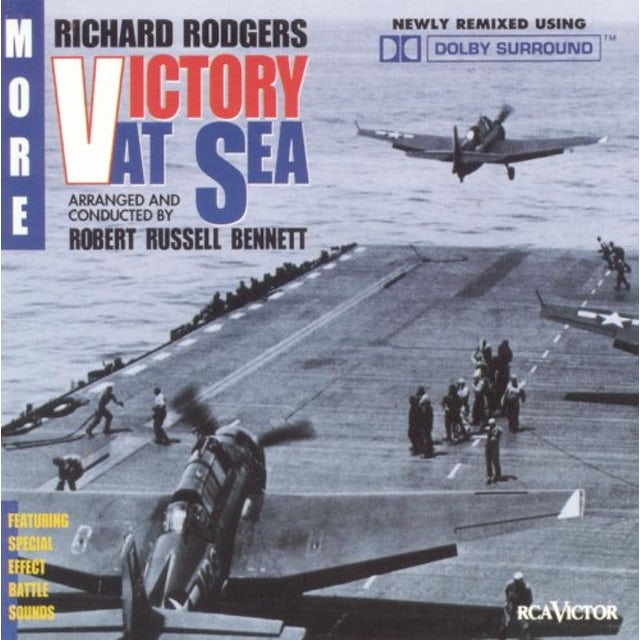 Richard Rodgers MORE VICTORY AT SEA CD
