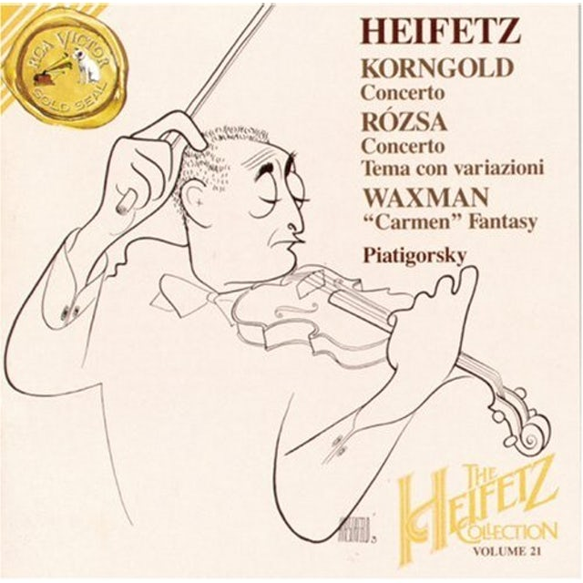 Jascha Heifetz CONCERTOS 21 CD