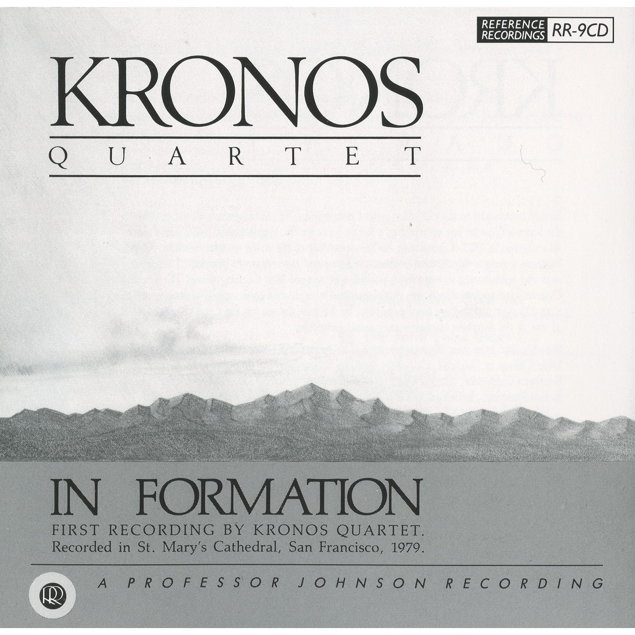 Kronos Quartet IN FORMATION CD