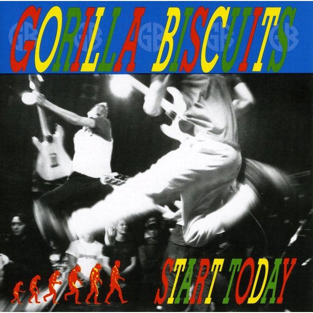 Gorilla Biscuits START TODAY CD