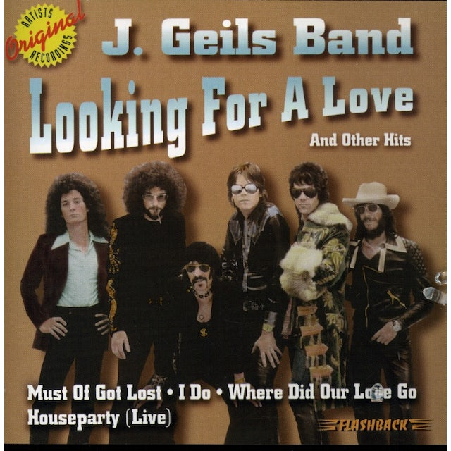 J Geils LOOKING FOR A LOVE & OTHER HITS CD