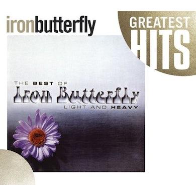 Iron Butterfly LIGHT & HEAVY: BEST OF CD