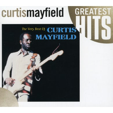 Curtis Mayfield VERY BEST OF CD
