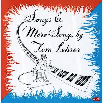 SONGS & MORE SONGS BY TOM LEHRER CD