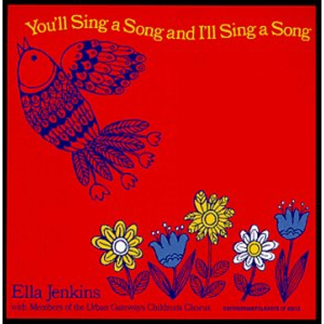 Ella Jenkins YOU'LL SING A SONG & I'LL SING A SONG CD
