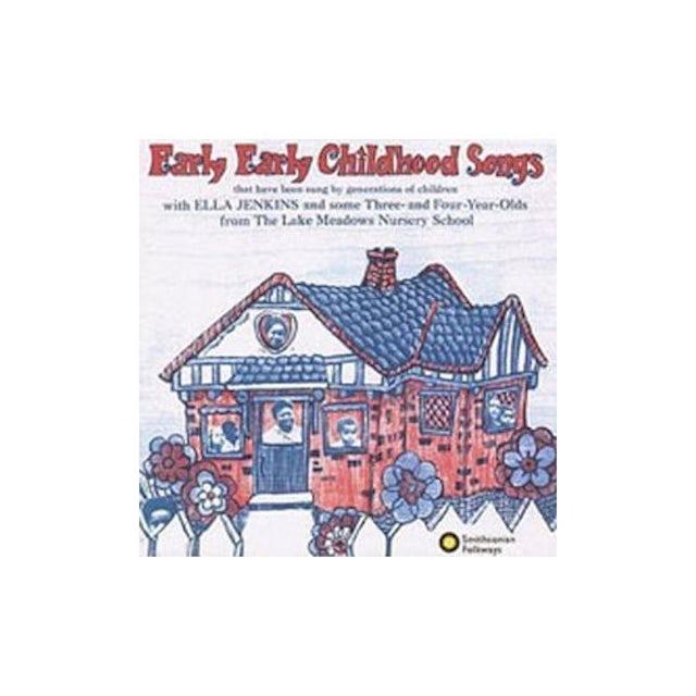 Ella Jenkins EARLY EARLY CHILDHOOD SONGS CD