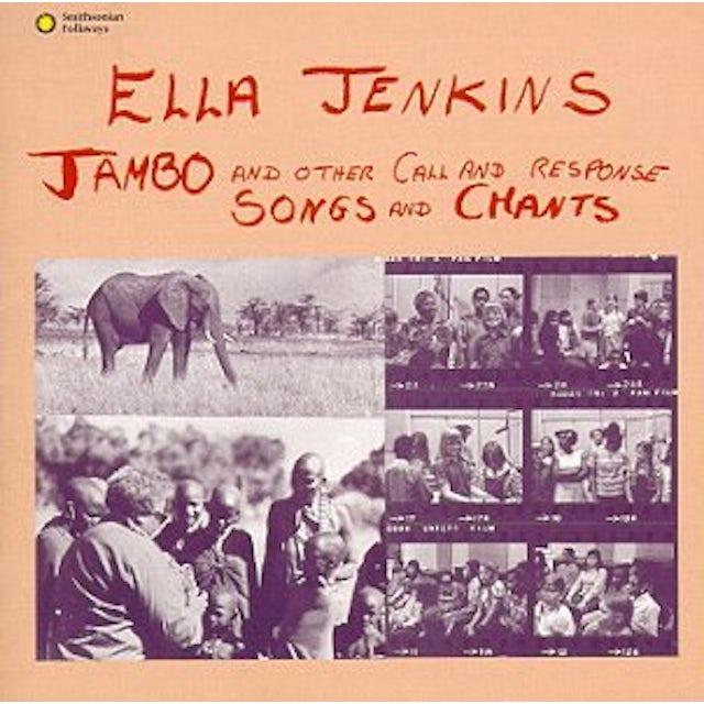 Ella Jenkins JAMBO CD