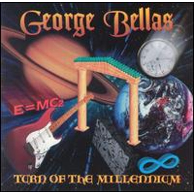 George Bellas TURN OF THE MILLENNIUM CD