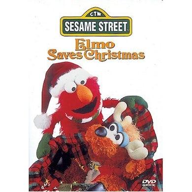 Sesame Street ELMO SAVES CHRISTMAS DVD