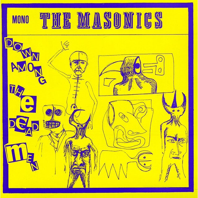 Masonics DOWN AMONG THE DEAD MEN CD