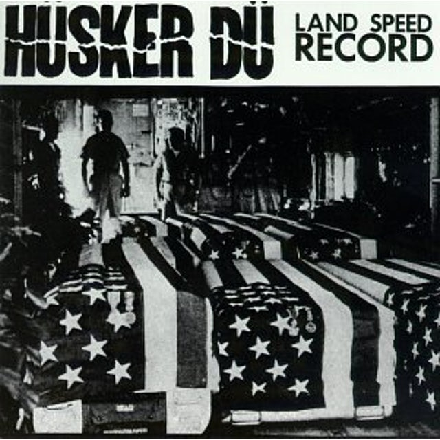 Hüsker Dü LAND SPEED RECORD Vinyl Record