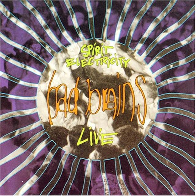 Bad Brains SPIRIT ELECTRICITY (LIVE) CD