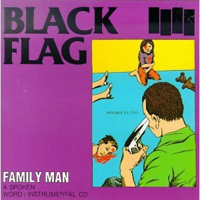 Black Flag FAMILY MAN Vinyl Record