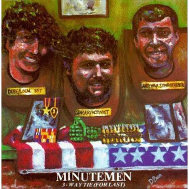 Minutemen 3 WAY TIE FOR LAST Vinyl Record
