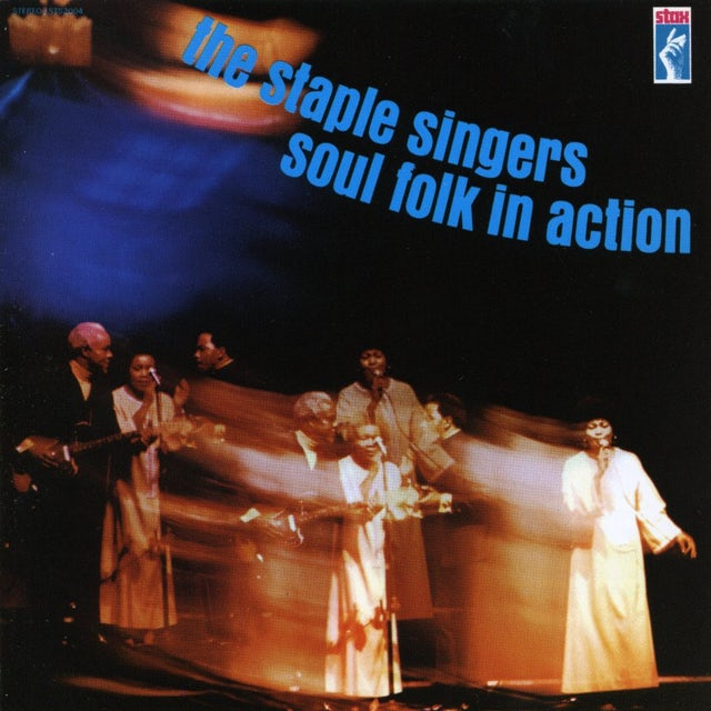 The Staple Singers SOUL FOLK IN ACTION CD