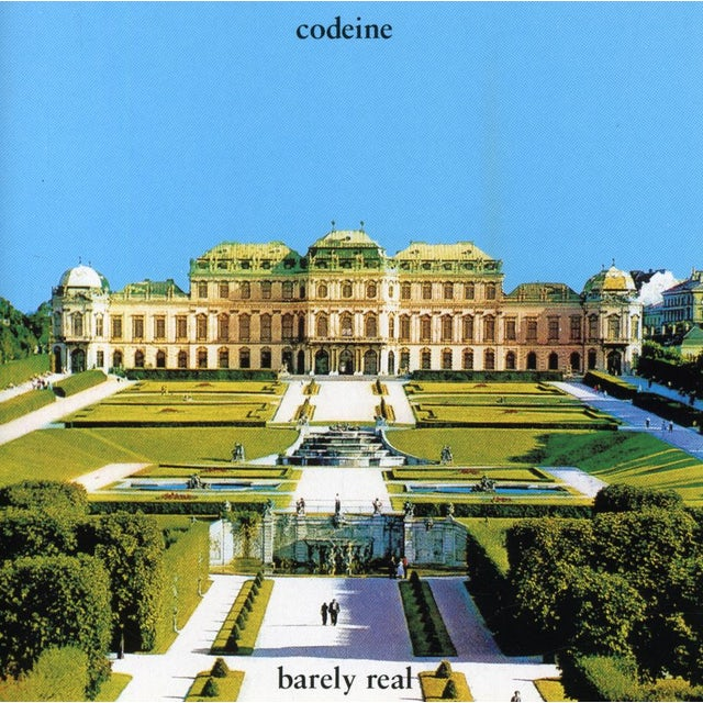Codeine BARELY REAL CD