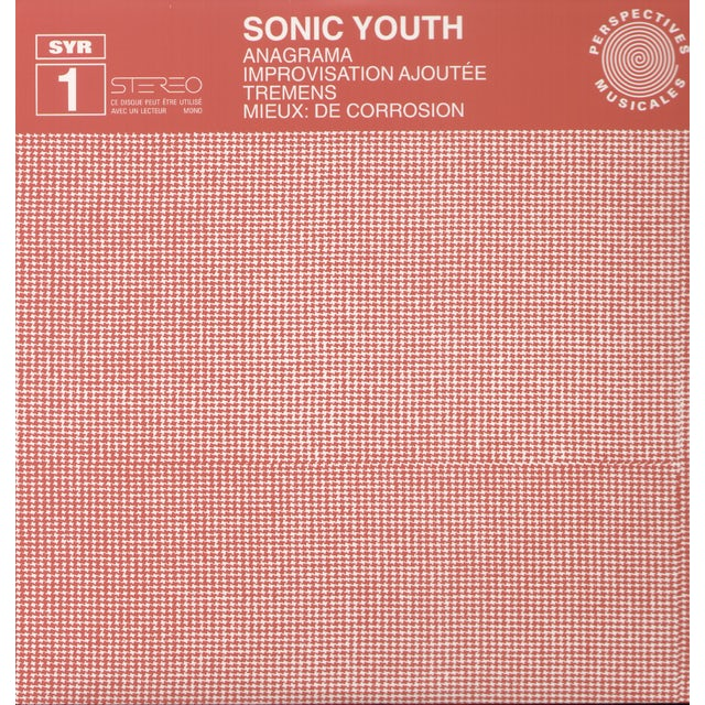 Sonic Youth ANAGRAMA Vinyl Record