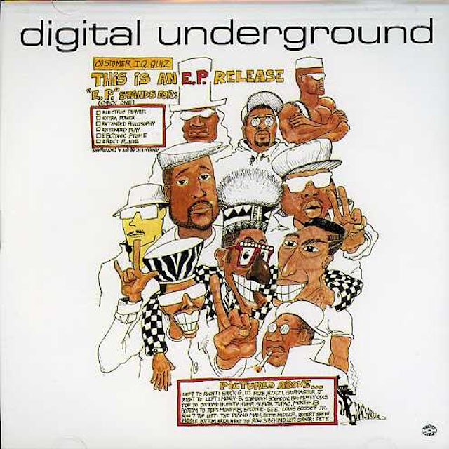 Digital Underground THIS IS AN EP CD