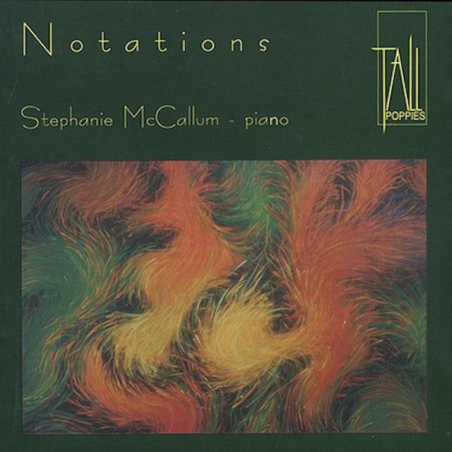 Stephanie McCallum NOTATIONS CD