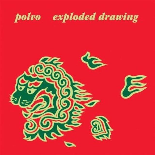 Polvo EXPLODED DRAWING CD