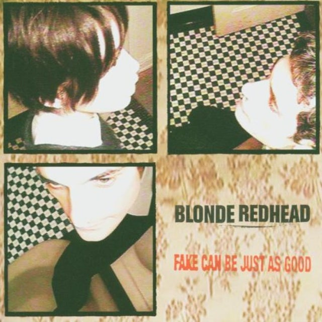 Blonde Redhead FAKE CAN BE JUST AS GOOD CD