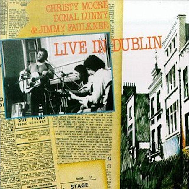Christy Moore LIVE IN DUBLIN CD