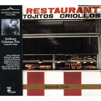 Anthony Coleman SEPHARDIC TINGE CD