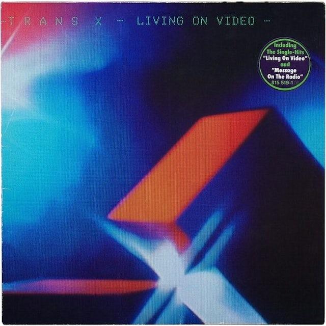 Trans-X LIVING ON VIDEO Vinyl Record