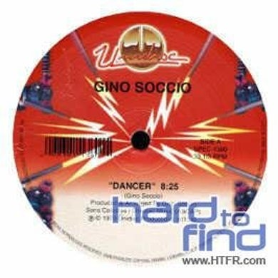 Gino Soccio DANCER Vinyl Record - Canada Release