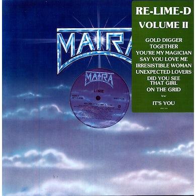 Lime GOLD DIGGER / TOGETHER Vinyl Record
