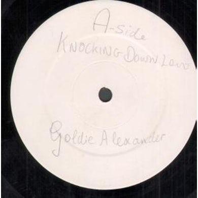 Goldie Alexander KNOCKING DOWN LOVE Vinyl Record