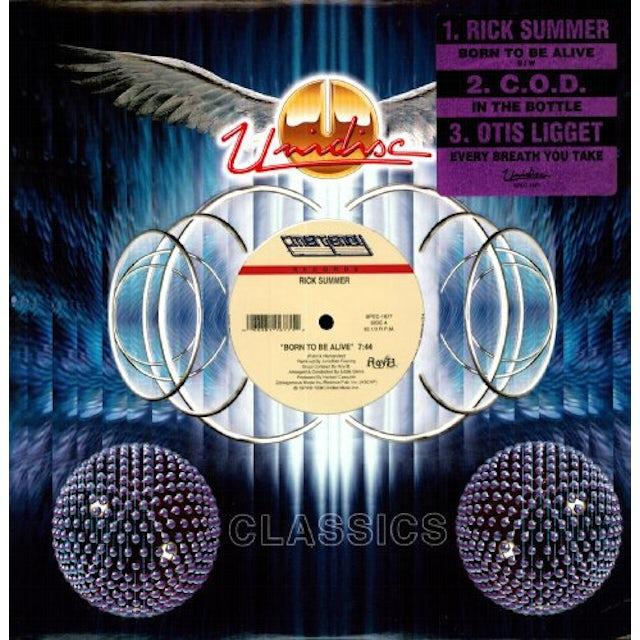 Rick Summer BORN TO BE ALIVE Vinyl Record