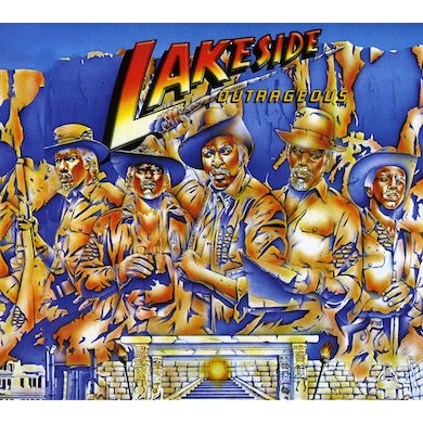 Lakeside OUTRAGEOUS CD