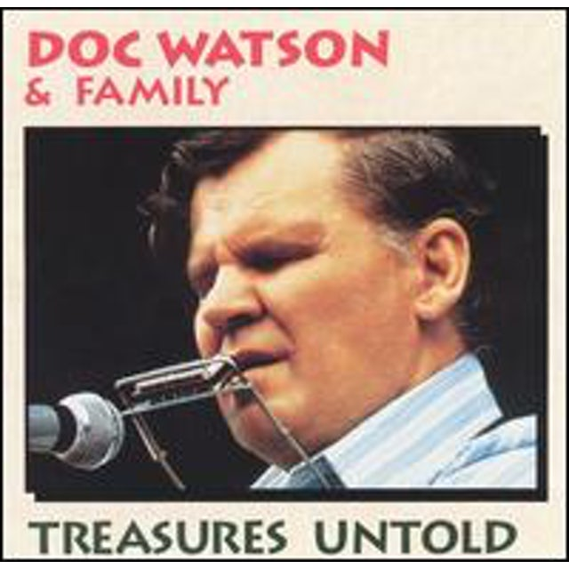 Doc Watson TREASURES UNTOLD CD