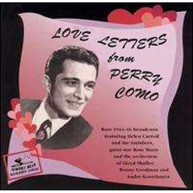Perry Como LOVE LETTERS: 1944-46 CD