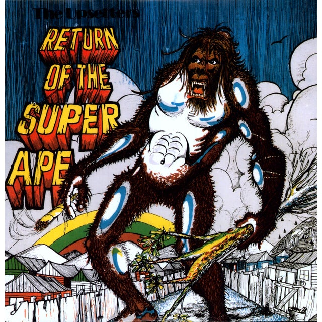 Lee Scratch Perry RETURN OF THE SUPER APE Vinyl Record