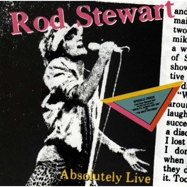 Rod Stewart ABSOLUTELY LIVE CD