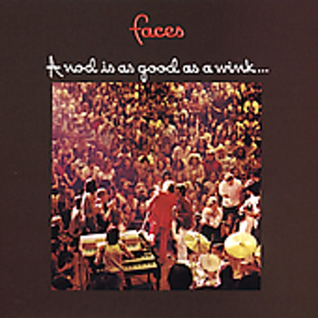 Faces NOD IS AS GOOD AS A WINK TO A BLIND HORSE CD