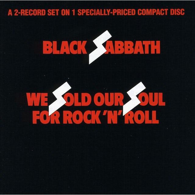 Black Sabbath WE SOLD OUR SOULS FOR ROCK N ROLL CD