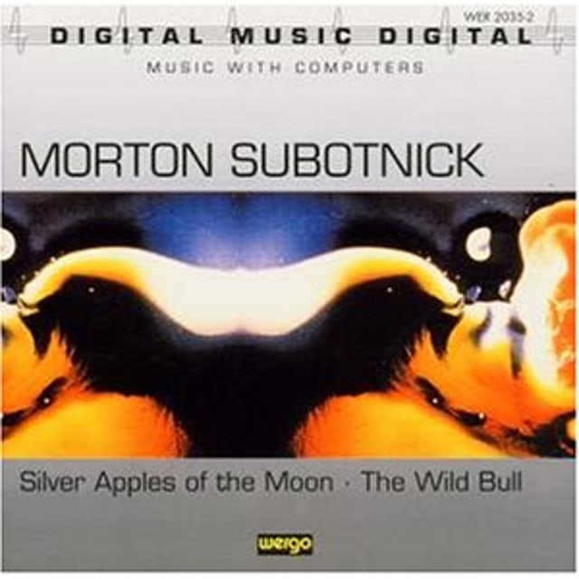 Morton Subotnick SILVER APPLES OF THE MOON CD